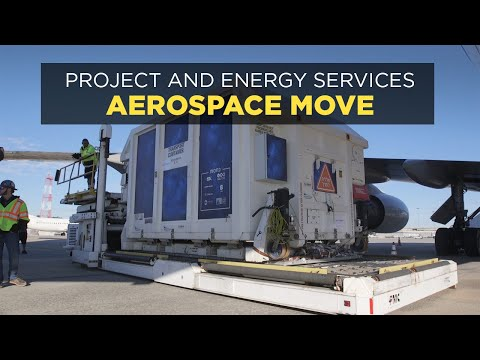 Expeditors Project Cargo Aerospace Highlight