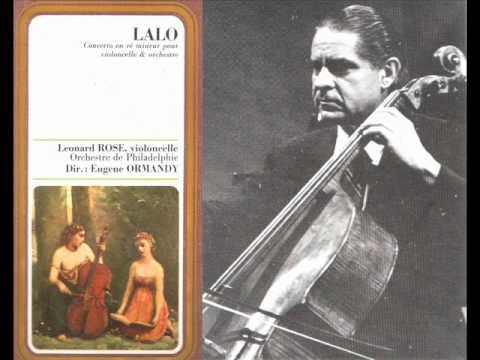 Edouard Lalo-Cello Concerto in d minor (Complete)