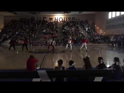 Mesquite High School K-Club (KPOP) Assembly Performance