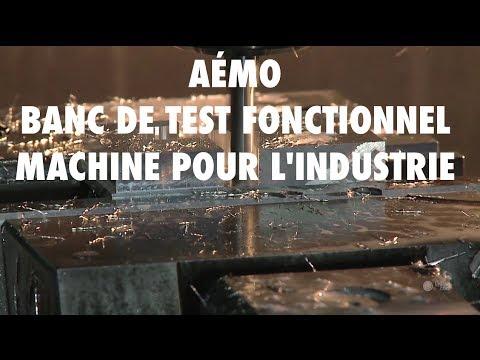 Banc de test fonctionnel, machine d'assemblage en Mayenne (53) - AÉMO