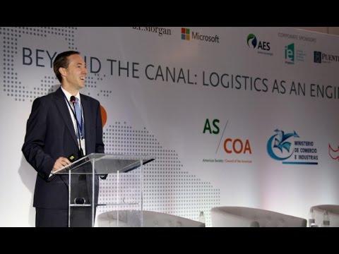 Minister Augusto Arosemena sobre la economía y el comercio – Panama 2016