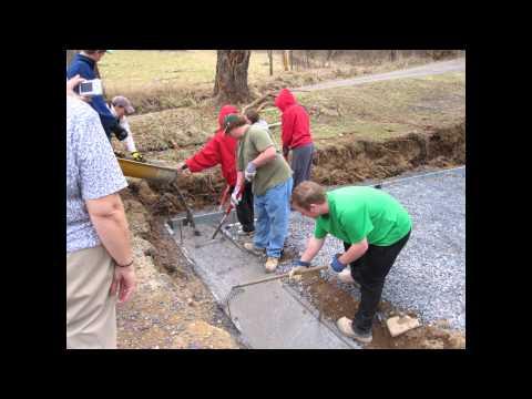 Habitat for Humanity, Bishop Brady High School - Day 5