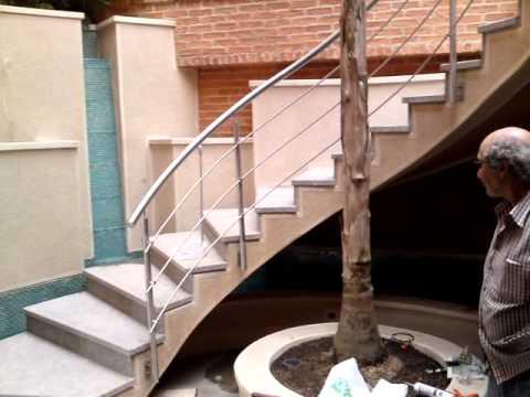 fuente chuao escalera de caracol
