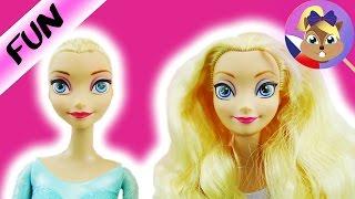Elsa příběh | Nejdříve pleš poté paruka | Elsina drsná změna
