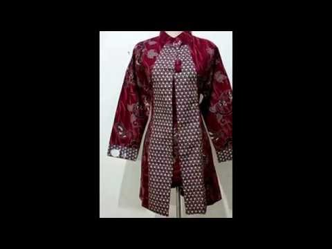 BAJU BATIK WANITA Modern Model Terbaru Jual Baju Batik