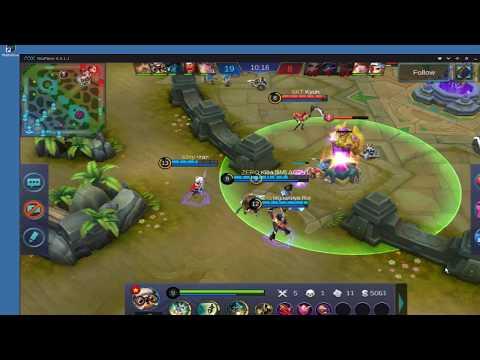 cara main dan build skill diggie dari top player mobile Legends
