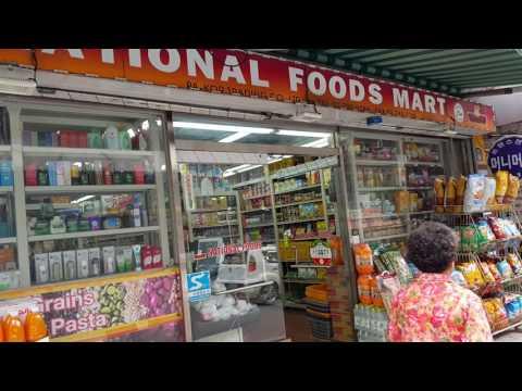 Halal food marts and Halal restaurants in Itaewon Seoul, South Korea