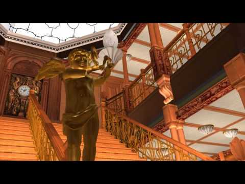 Grand Staircase (2010 Version) | TITANIC SIMS