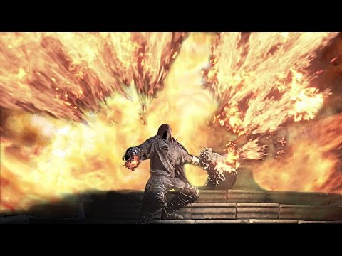 Dark Souls 3 PvP - AWESOME Warmth Seething Chaos Pyromancer with Dragon Head Shield
