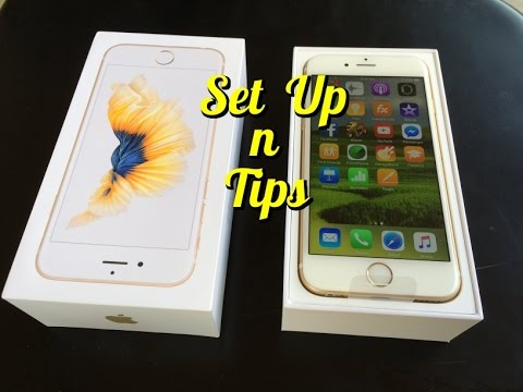 set up iphone set up new iphone 6s with tips less than 6 minutes 12954
