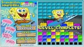 Andrew's Longplay of Spongebob Squarepants Collapse!