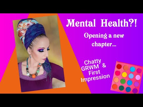 vivid-pigments-palette- -coloured-raine- -chatty-grwm-&-first-impression- -mental-health