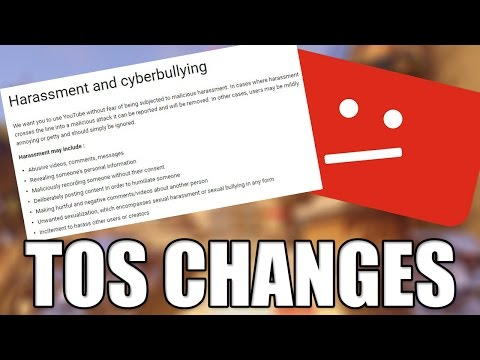 YouTube Terms of Service Changes - What This Means