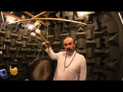 Anechoic Chamber and Gong