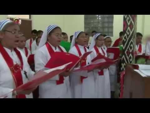 Mari masuk Rumah Tuhan dengan Lagu dan Pujian Gembira. Sr. Br ALMA, Putra/Putri Bhakti Luhur