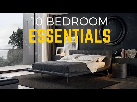 10 Things Every Guy Should Have In His Bedroom
