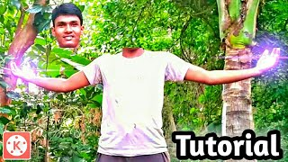 Head flying effect on KineMaster || Best KineMaster editing on 2018 || KineMaster Best Magic editing