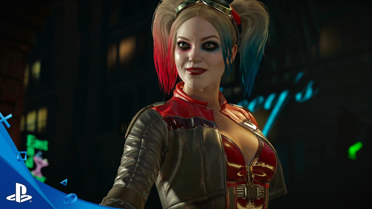 Injustice 2 Harley and Deadshot Trailer PS4 YouTube