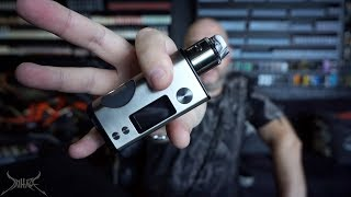 Dovpo Basium Dual Battery Squonker Review and Rundown | A Vaping Biker Project