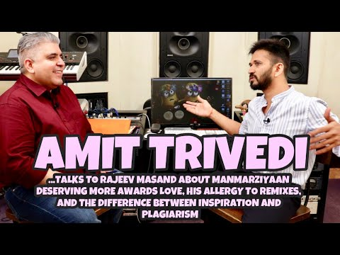 Amit Trivedi interview with Rajeev Masand I Awards I Remixes I Plagiarism