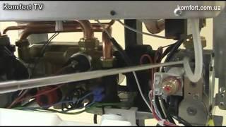 Газовый котел Tiberis Atlas 24 F(Сопроводительное видео к журнала ТермометрЪ №6 (14) ноябрь-декабрь 2011