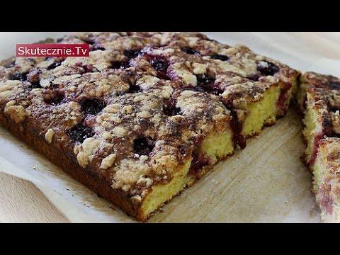 Ciasto Z Owocami I Kruszonka Proste Pulchne Bez Miksera