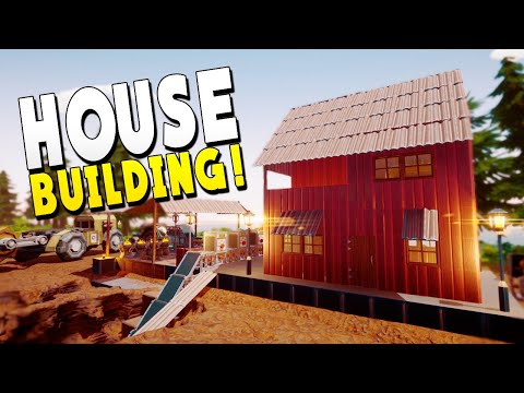 Built A House With A Working Shower And Treadmill - Hydroneer Gameplay - Early Access