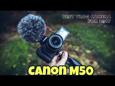 My New Camera | Canon M50 | Unboxing And Review #Canonm50 #sonya6400