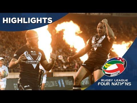 New Zealand V Australia - Four Nations Final Highlights