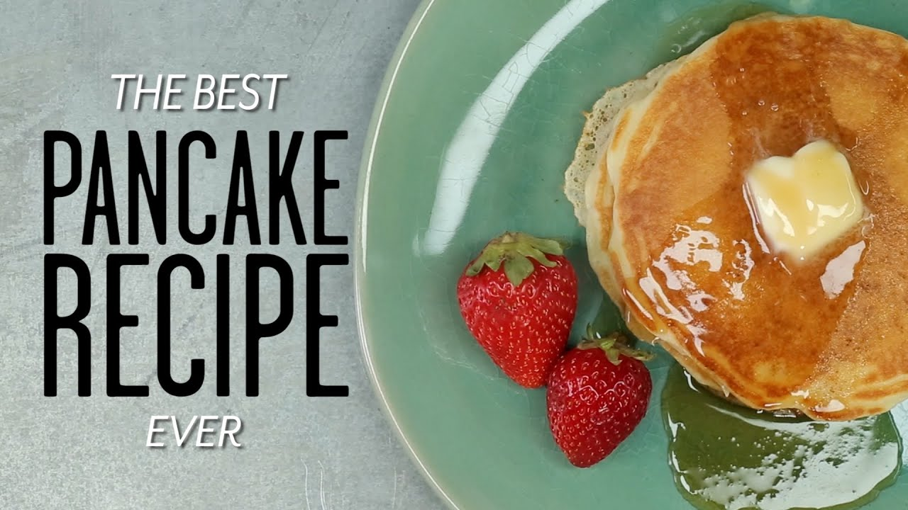 How to make the best pancakes ever cooking tutorial youtube ccuart Choice Image