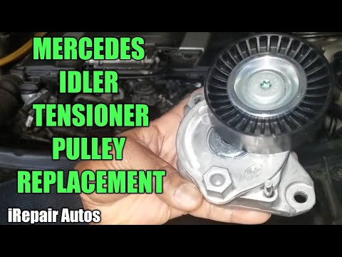 Mercedes Idler Tensioner Pulley Replacement | DIY | iRepair Autos | W164