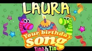 Tina&Tin Happy Birthday LAURA