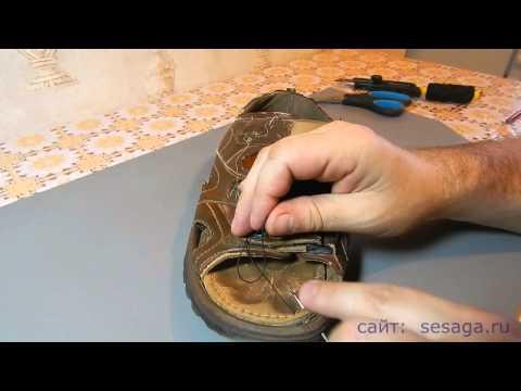 Как шить сапожным крючком