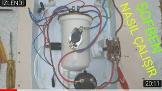 Şofben Nasıl Çalışır Ani su ısıtıcı iç yapısı Detaylı