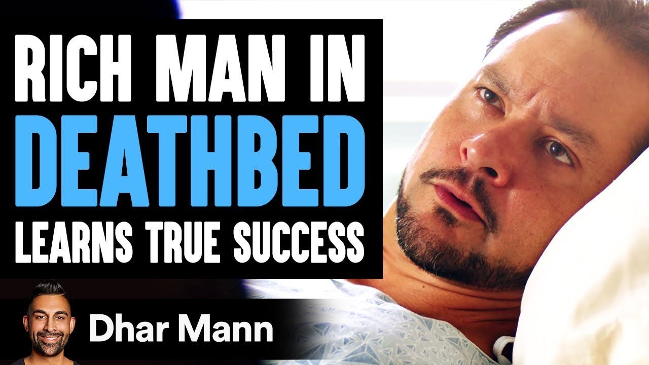 Rich Man In His Deathbed Learns Success From A Janitor | Dhar Mann