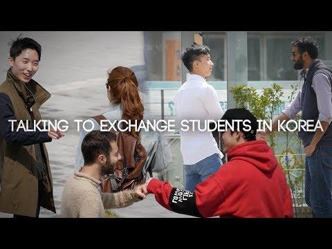 JAYKEEOUT : Talking to Exchange Students in Korea (ft. ShaunDan TV)