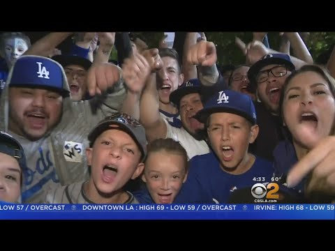 Dodger Fans Go Home Disappointed From World Series Loss