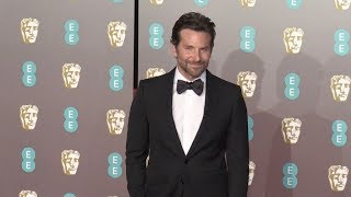 Bradley Cooper at the 2019 EE British Academy Film Awards in London