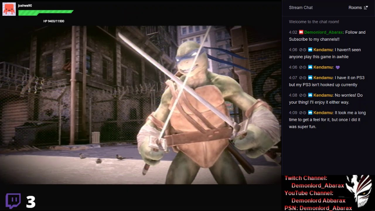 [PS3] Teenage Mutant Ninja Turtles: Out of the Shadows {Survival Mode Round 11}