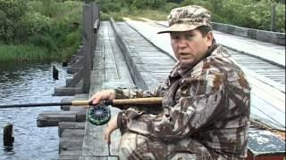 Чернушенко ловля впроводку катушкой Нельма река Пра