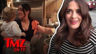 Salma Hayek Takes Over Ryan Reynolds Kitchen | TMZ TV