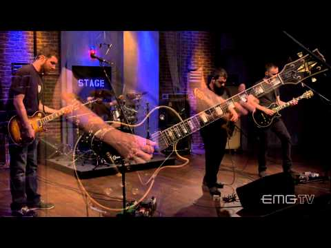 Intronaut plays live, Killing Birds With Stones on EMGtv