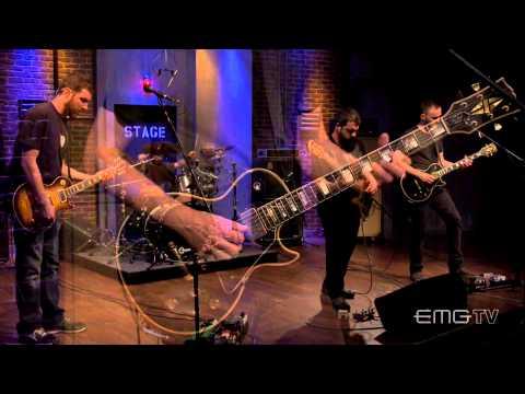 Intronaut plays live, Killing Birds With Stones on EMGtv