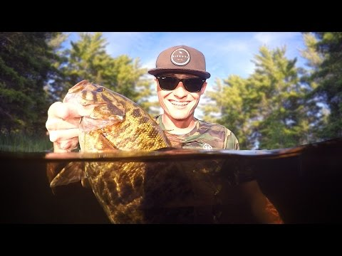 Thumbnail: Fishing in Canada with the Worlds Best Bass Fisherman! - Ranked #1 (Scott and Roland Martin)