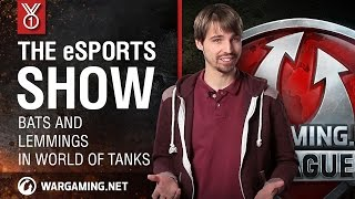 Bats and Lemmings in World of Tanks: The eSports Show
