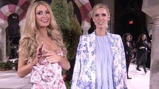 Paris Hilton, Nicky Hilton and more at Oscar de la Renta Fashion Show