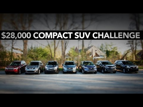 New 28000 Compact SUV Challenge  YouTube