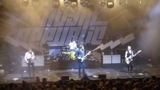 Royal Republic - Berlin Columbiahalle live 25-11-2016