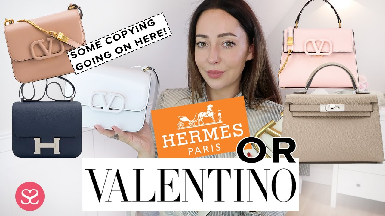 VALENTINO ARE COPYING HERMES. But they're cheaper and easy to get. Worth it or avoid?