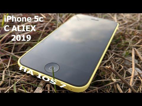 IPhone 5c 2019 на Ios 10.3.3 C Aliexpress распаковка посылки